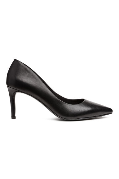 Court shoes with covered heels - Black - Ladies | H&M CN 1