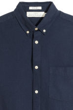 Oxford shirt Regular fit - Dark blue - Men | H&M IE 3