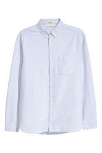 Oxford shirt Regular fit - Light grey - Men | H&M 2