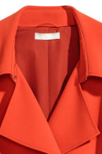 Trenchcoat - Bright red - Ladies | H&M CN 4