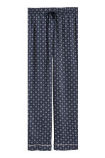 Pyjamas - Dark blue/Patterned - Ladies | H&M CA 3