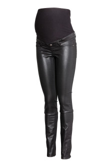 MAMA Skinny Coated Jeans