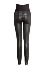 MAMA Skinny Coated Jeans - Black - Ladies | H&M 3