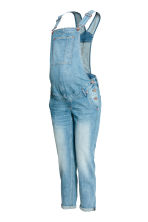 MAMA Denim dungarees - Light denim blue - Ladies | H&M CN 2
