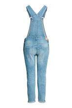 MAMA Denim dungarees - Light denim blue - Ladies | H&M CN 3