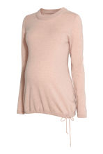 MAMA Cashmere jumper - Powder pink - Ladies | H&M IE 2