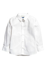 Camisa Easy iron - Blanco -  | H&M ES 2