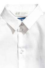 Hemd - Easy iron - Wit -  | H&M BE 3