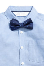 Shirt with a tie/bow tie - Blue/Bow tie - Kids | H&M 3