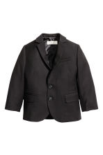 Two-button jacket - Black - Kids | H&M 2