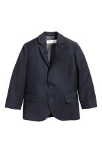 Two-button jacket - Dark blue - Kids | H&M 2