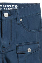 Cotton clamdiggers - Dark blue - Kids | H&M 2