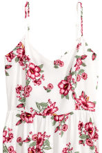 短洋裝 - White/Floral - Ladies | H&M 3