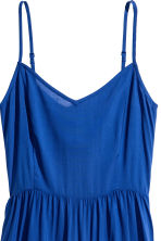 Short dress - Blue - Ladies | H&M CN 3