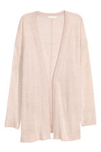 Fine-knit cardigan - Powder marl - Ladies | H&M 2