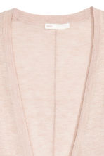 Fine-knit cardigan - Powder marl - Ladies | H&M 3