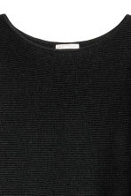 Ribbed jumper - Dark grey marl - Ladies | H&M CN 3