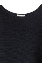 Ribbed jumper - Dark blue - Ladies | H&M 3