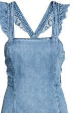 Denim dress - Denim blue - Ladies | H&M 3