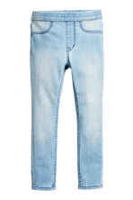 丹寧內搭褲 - Light denim blue -  | H&M 2
