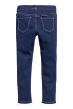 Denim leggings - Dark denim blue - Kids | H&M CN 3