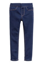 Denim leggings - Dark denim blue - Kids | H&M CN 2