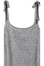 Calf-length jersey dress - Grey marl - Ladies | H&M 3
