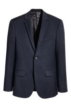 Wool jacket Slim fit - Dark blue - Men | H&M 2