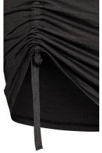 Drawstring detail skirt - Dark grey - Ladies | H&M 3