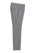 Suit trousers Slim fit - Black marl - Men | H&M 3