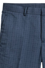 Premium cotton city shorts - Dark blue/Patterned - Men | H&M 4