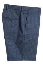 Premium cotton city shorts - Dark blue/Patterned - Men | H&M 3