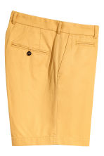 Premium cotton city shorts - Mustard yellow - Men | H&M 3