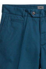 Premium cotton city shorts - Navy blue - Men | H&M CN 4