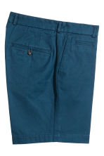 Premium cotton city shorts - Navy blue - Men | H&M CN 3