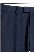 Suit trousers Slim fit - Dark blue - Men | H&M 4