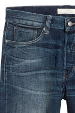 Straight Regular Jeans - Dark blue - Men | H&M 4