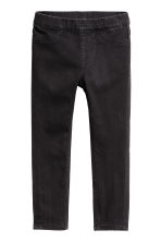 2-pack denim leggings - Light denim blue/Black -  | H&M 3