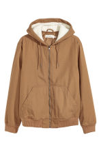 Padded jacket - Camel - Men | H&M 2