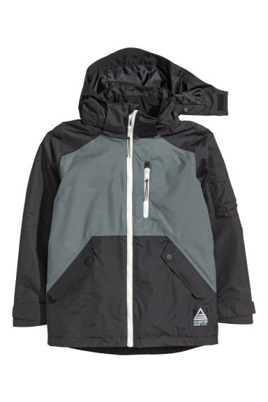 Shell jacket - Black/Grey - Kids | H&M 1