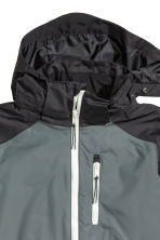 Shell jacket - Black/Grey - Kids | H&M 2