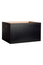 Large wooden box - Black - Home All | H&M IE 1
