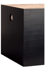 Large wooden box - Black - Home All | H&M IE 2