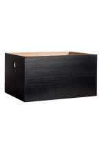 Wooden box - Black - Home All | H&M CN 1