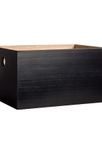 Wooden box - Black - Home All | H&M CN 2
