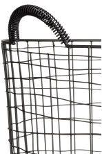 Large wire basket - Black - Home All | H&M CN 2