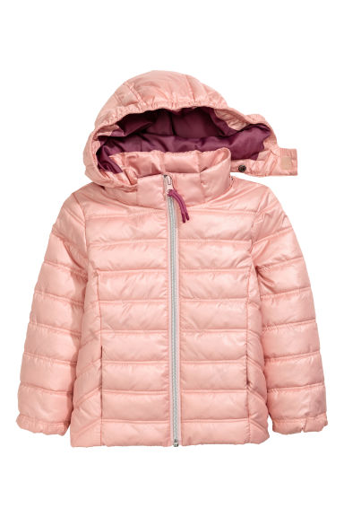 Padded jacket - Light pink - Kids | H&M 1
