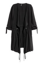 Short coat - Black -  | H&M 2