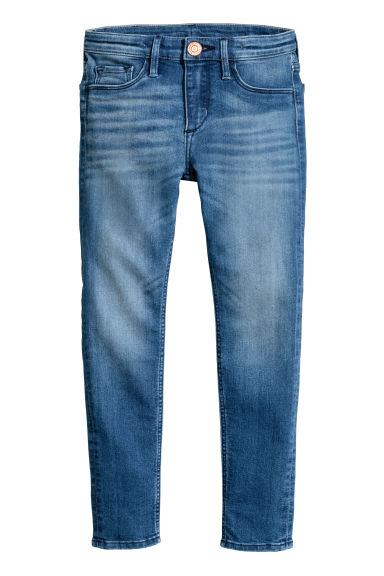 Superstretch Skinny Fit Jeans - Denimblå - BARN | H&M FI