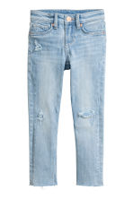 Skinny Fit Worn Jeans - Light denim blue - Kids | H&M 2